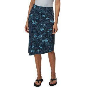 Patagonia Dream Song Tropical Blue Midi Skirt - M